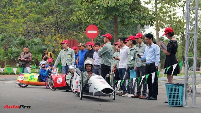 Xe tự chế của sinh viên Việt Nam đi được gần 587 km/lít xăng - Ảnh 3.