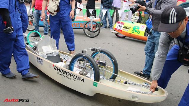 Xe tự chế của sinh viên Việt Nam đi được gần 587 km/lít xăng - Ảnh 7.