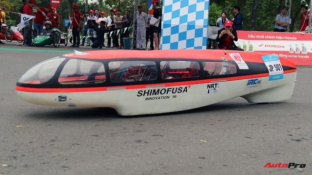 Xe tự chế của sinh viên Việt Nam đi được gần 587 km/lít xăng - Ảnh 9.
