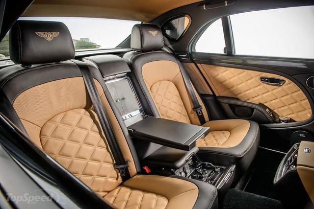 Bentley Mulsanne hơn 35 tỷ đồng mang biển số khủng của đại gia Bình Dương - Ảnh 6.