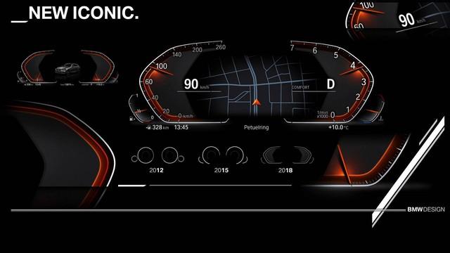 BMW nhá hàng thiết kế cụm đồng hồ hiện đại trên các mẫu xe chủ lực mới - Ảnh 3.