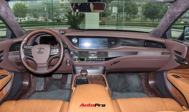 Sedan hạng sang Lexus LS500h 2018 hơn 8,3 tỷ đồng trên phố Hà Nội - Ảnh 6.