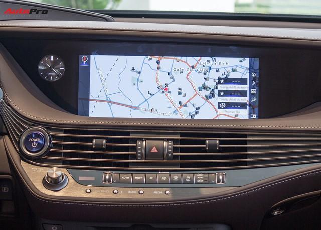 Sedan hạng sang Lexus LS500h 2018 hơn 8,3 tỷ đồng trên phố Hà Nội - Ảnh 7.