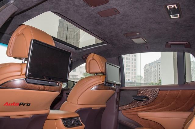 Sedan hạng sang Lexus LS500h 2018 hơn 8,3 tỷ đồng trên phố Hà Nội - Ảnh 14.