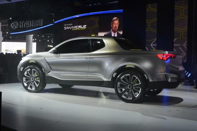 Bán tải Hyundai cạnh tranh Ford Ranger sẽ ra mắt trong 3 năm tới - Ảnh 2.