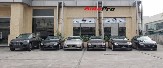 Dàn xe Maserati chính hãng khoe dáng tại Hà Nội - Ảnh 2.