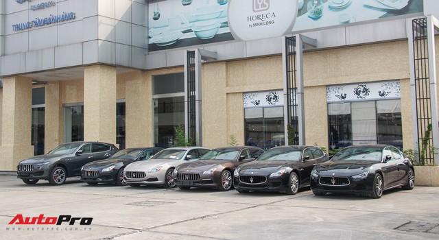 Dàn xe Maserati chính hãng khoe dáng tại Hà Nội - Ảnh 1.
