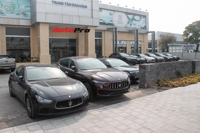 Dàn xe Maserati chính hãng khoe dáng tại Hà Nội - Ảnh 13.
