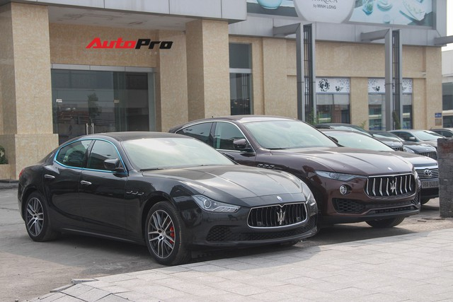 Dàn xe Maserati chính hãng khoe dáng tại Hà Nội - Ảnh 12.
