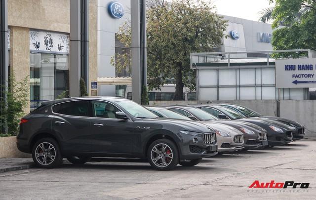 Dàn xe Maserati chính hãng khoe dáng tại Hà Nội - Ảnh 10.
