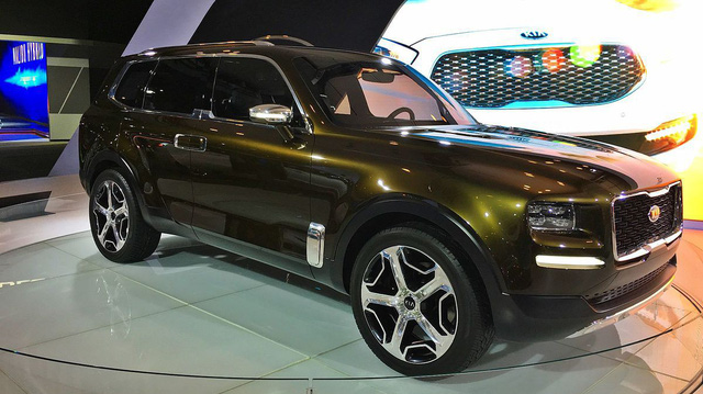 Kia Telluride: Kỳ vọng SUV 7 chỗ mới của Kia