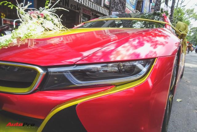 Xe hoa BMW i8 dán decal phong cách Iron Man tại Sài Gòn - Ảnh 8.