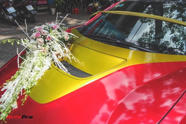 Xe hoa BMW i8 dán decal phong cách Iron Man tại Sài Gòn - Ảnh 5.