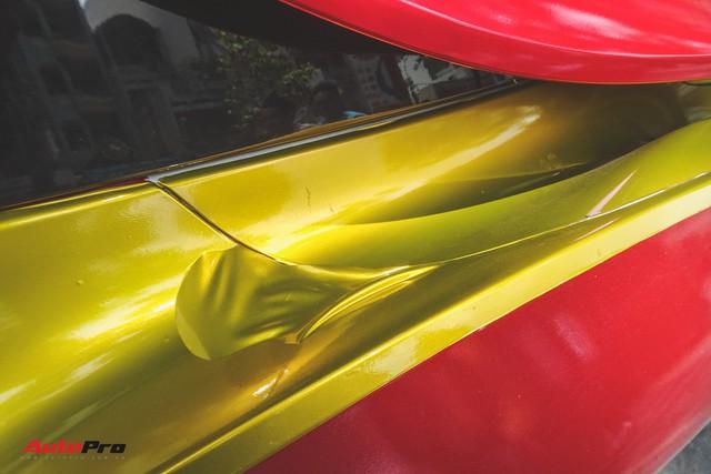 Xe hoa BMW i8 dán decal phong cách Iron Man tại Sài Gòn - Ảnh 7.