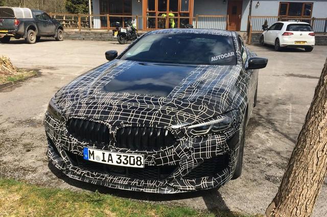 BMW 8-Series lộ diện trước ngày ra mắt chính thức - Ảnh 9.