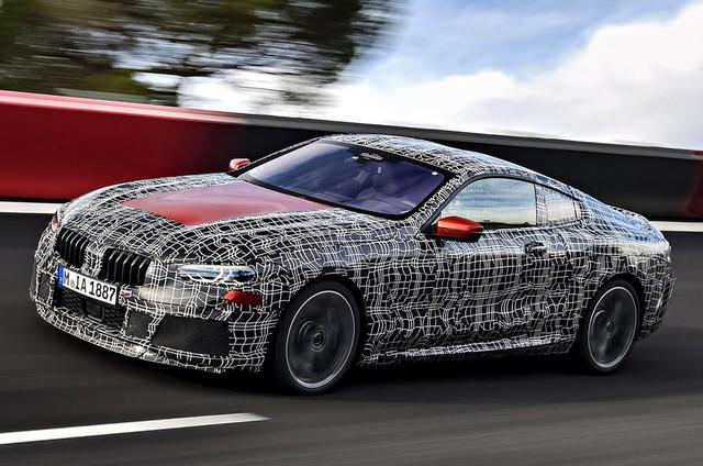 BMW 8-Series lộ diện trước ngày ra mắt chính thức - Ảnh 1.