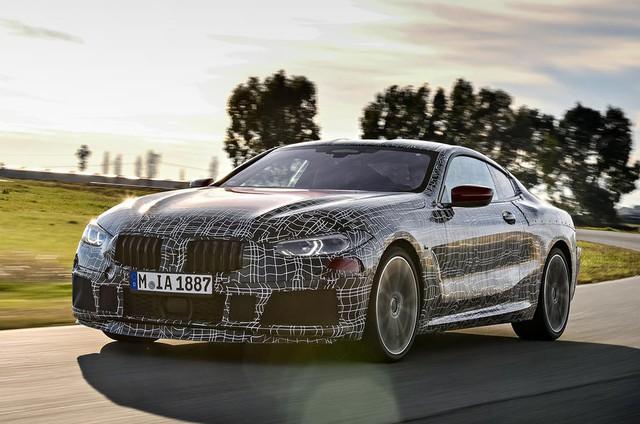 BMW 8-Series lộ diện trước ngày ra mắt chính thức - Ảnh 6.