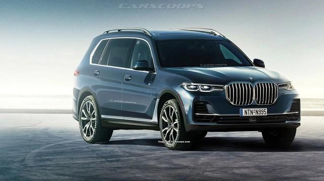 Những điểm đã biết về X7 - SUV chủ lực mới nhất ra mắt trong năm 2018 của BMW