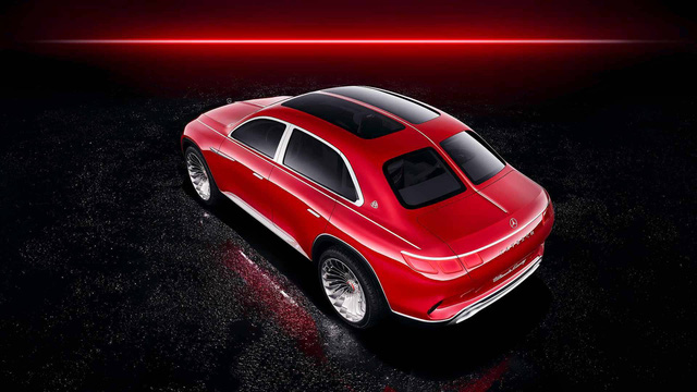 Mercedes-Maybach chính thức ra mắt concept SUV kỳ lạ nhất từ trước tới nay - Ảnh 4.
