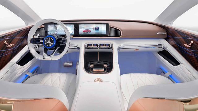 Mercedes-Maybach chính thức ra mắt concept SUV kỳ lạ nhất từ trước tới nay - Ảnh 7.