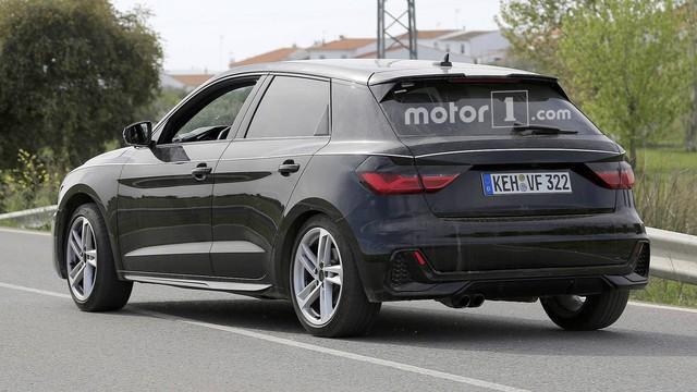 Audi A1 2019 trần trụi trước ngày ra mắt - Ảnh 4.