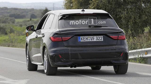 Audi A1 2019 trần trụi trước ngày ra mắt - Ảnh 3.