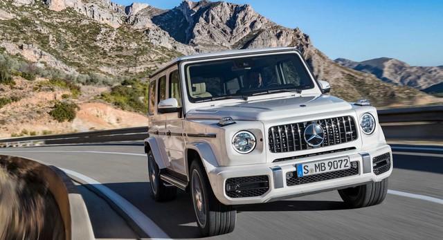Mercedes-AMG đẩy mạnh dòng sản phẩm G-Wagen với G63S, Maybach G - Ảnh 1.