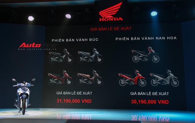 Honda Future 2018 ra mắt với đèn pha LED, giá từ 30,19 triệu đồng - Ảnh 1.