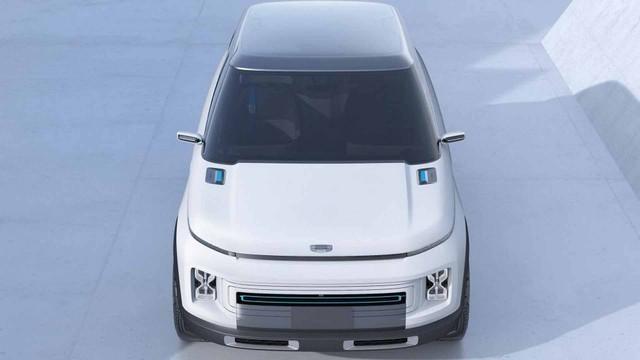 Hãng xe Trung Quốc Geely tung concept đẹp như Range Rover - Ảnh 3.