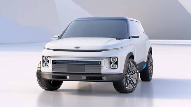 Hãng xe Trung Quốc Geely tung concept đẹp như Range Rover - Ảnh 1.