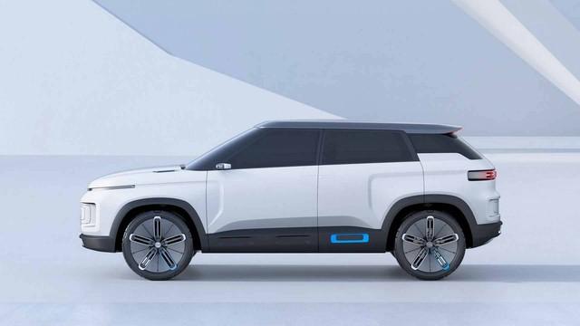 Hãng xe Trung Quốc Geely tung concept đẹp như Range Rover - Ảnh 4.