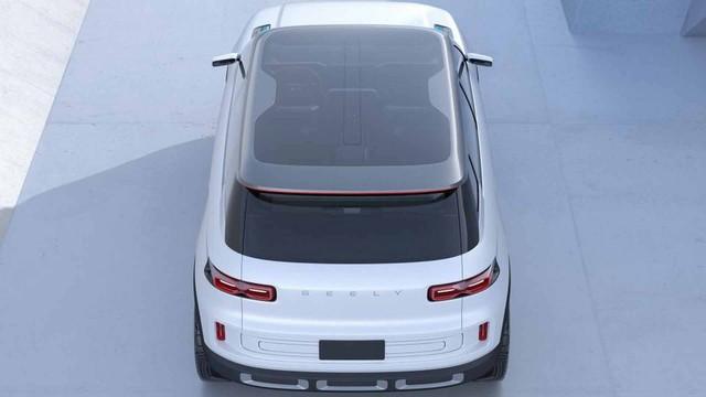 Hãng xe Trung Quốc Geely tung concept đẹp như Range Rover - Ảnh 2.