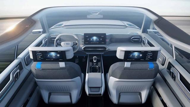 Hãng xe Trung Quốc Geely tung concept đẹp như Range Rover - Ảnh 6.