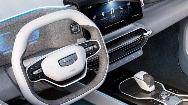 Hãng xe Trung Quốc Geely tung concept đẹp như Range Rover - Ảnh 5.