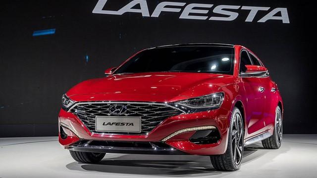 Hyundai Lafesta: Sedan Hàn Quốc, tên Italia, sản xuất cho Trung Quốc