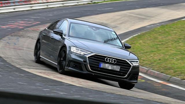Audi S8 sắp ra mắt với động cơ V8 lấy từ Porsche Panamera Turbo