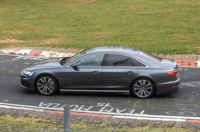 Audi S8 sắp ra mắt với động cơ V8 lấy từ Porsche Panamera Turbo - Ảnh 4.