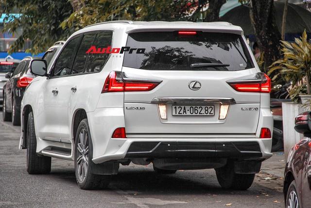 Lexus LX570 độ bản Super Sport giá hơn 10 tỷ của dân chơi Lạng Sơn tại Hà Nội - Ảnh 3.