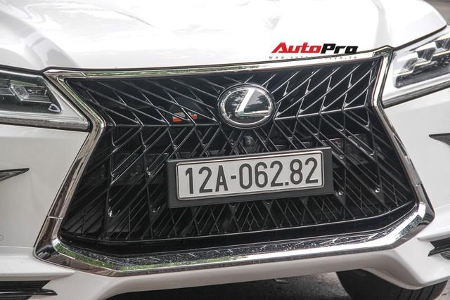 Lexus LX570 độ bản Super Sport giá hơn 10 tỷ của dân chơi Lạng Sơn tại Hà Nội - Ảnh 5.