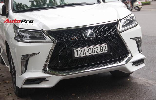 Lexus LX570 độ bản Super Sport giá hơn 10 tỷ của dân chơi Lạng Sơn tại Hà Nội - Ảnh 4.
