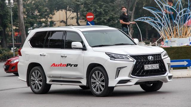 Lexus LX570 độ bản Super Sport giá hơn 10 tỷ của dân chơi Lạng Sơn tại Hà Nội
