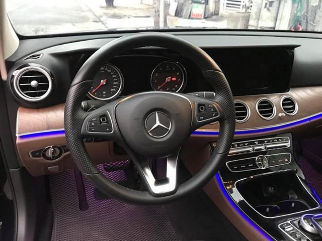 Lăn bánh hơn 12.000km, Mercedes-Benz E200 2017 được bán lại với giá 1,86 tỷ đồng - Ảnh 8.