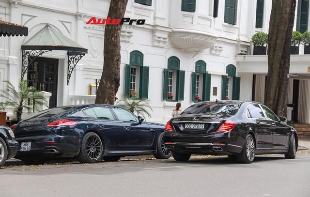 Siêu xe và xe sang xuống phố dịp nghỉ lễ 30/4 - 1/5 tại Hà Nội - Ảnh 11.