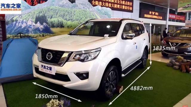 Cạnh tranh Toyota Fortuner, Nissan Terra bắt đầu xuất hiện tại đại lý, chuẩn bị ra mắt chính thức