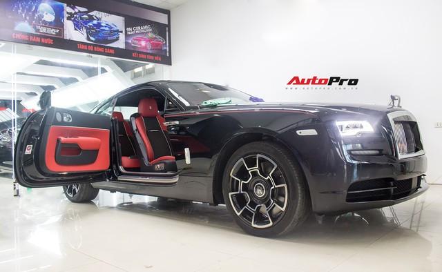 Bên trong Rolls-Royce Wraith Black Badge thứ 2 tại Việt Nam có gì? - Ảnh 7.