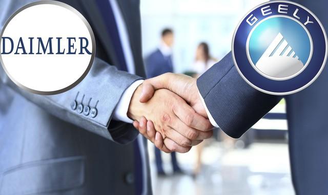 Daimler đi tìm tiếng nói chung với cổ đông mới Geely - Ảnh 2.