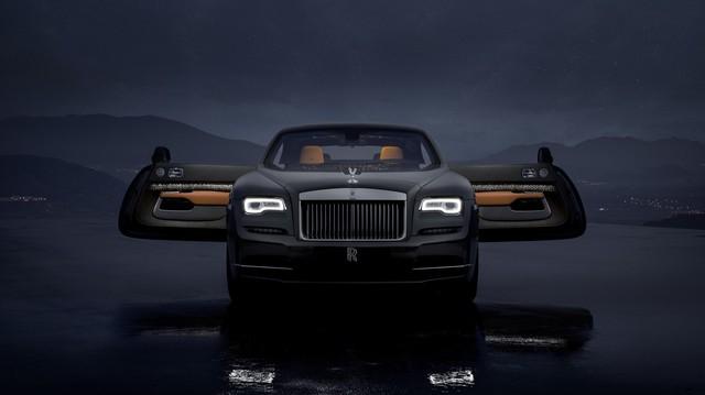 Rolls-Royce Wraith Luminary Collection: Khi bầu trời sao thêm rực sáng