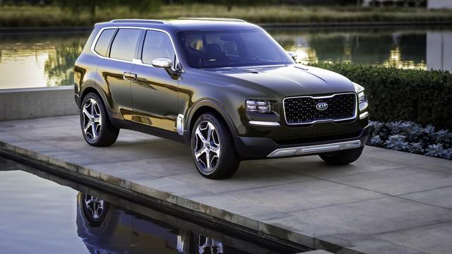 SUV 7 chỗ hoàn toàn mới Kia Telluride lần đầu xuất hiện ngoài đời thực - Ảnh 3.