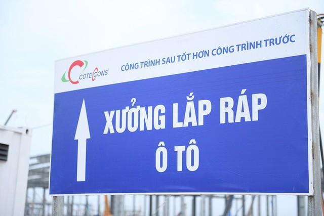 Một ngày ở đại công trường VINFAST: 6 tháng định hình giấc mơ ô tô Việt - Ảnh 8.