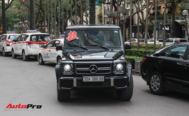 Dàn xe sang và siêu sang khủng quy tụ tại đám cưới thiếu gia ở Hà Nội - Ảnh 34.